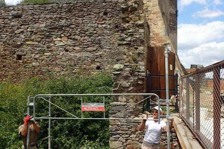 Château Rocher - Travaux de réhabilitation