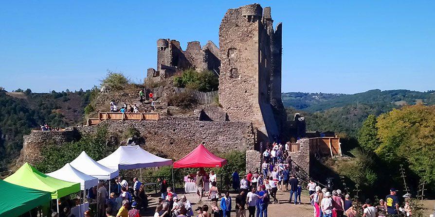 Château-Rocher : réouverture au public