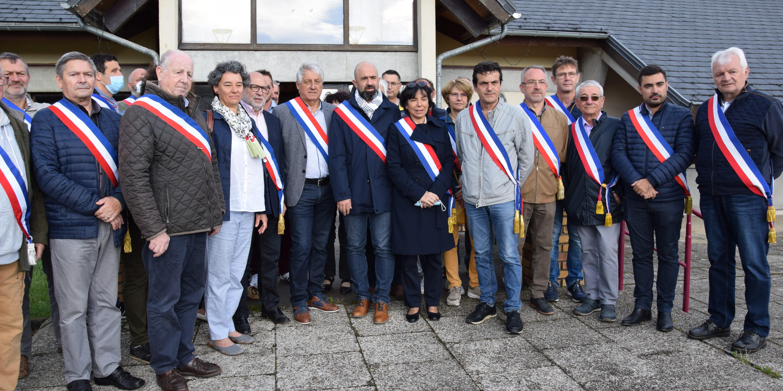 Les élus de Combrailles, Sioule et Morge se mobilisent contre la fermeture de la trésorerie de Manzat